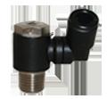 Accesorii pneumatice (drosel, robinet, amortizor zgomot) tip MV 28
