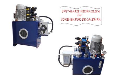 instalatie hidraulica cu schimbator de caldura
